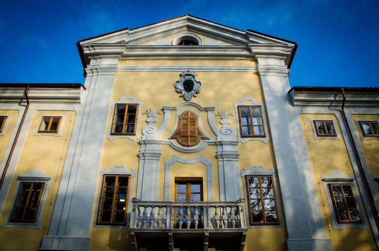 Lanthierijev dvorec, Vipava