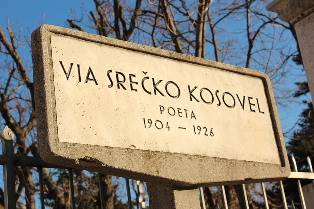 Ulica Srečka Kosovela v Italiji