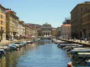 Trst Veliki kanal