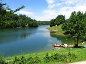 Jezero v Brkinih