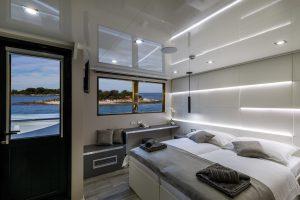 Kabina z balkonom